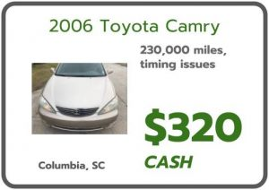 sell my junk car columbia sc