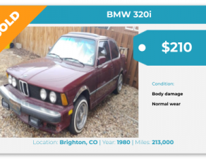 sell my junk car denver co