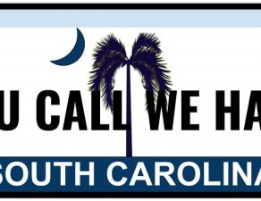 return south carolina plates