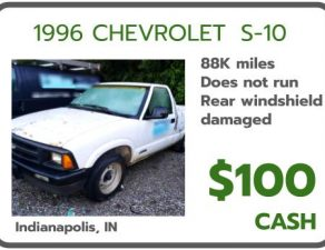 sell my junk car Indianapolis