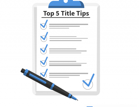 Tips for your title