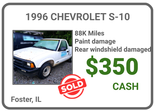 sell Truck for cash, Foster, IL